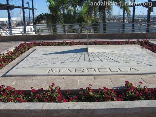 reloj Paseo Maritimo de Marbella