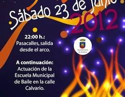 Noche de San Juan 2012 en Alozaina