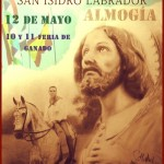 Cartel de la Romería de San Isidro de Almogía 2013