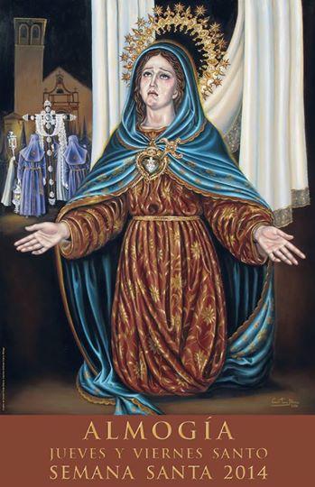 Cartel de la Semana Santa de Almogía 2014