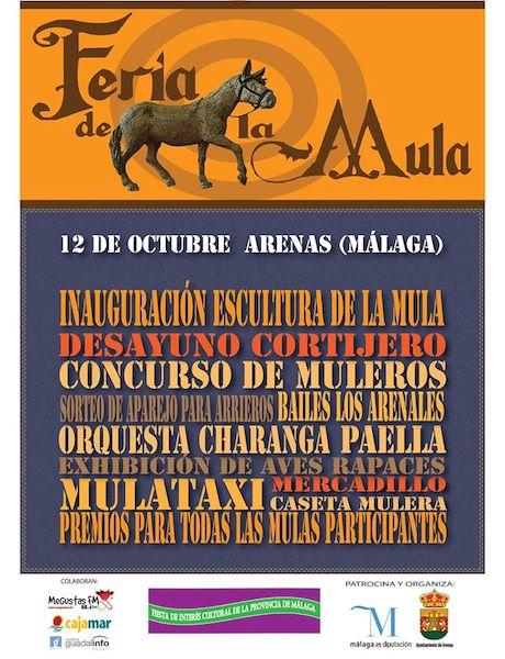 Feria de la Mula de Arenas 2014
