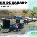 Feria de ganado en El Valdés, Moclinejo.