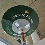 Infosenderos con wifi en El Caminito del Rey