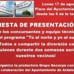 """Fiesta de presentación de los concursantes de """"Tú al norte y yo al sur"""""""