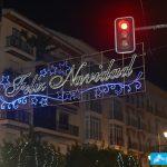 Luces de Navidad en Antequera