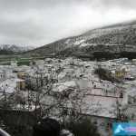 Nieve en Alfarnate