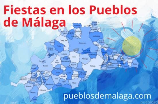 Lista de Fiestas en los Pueblos de Málaga