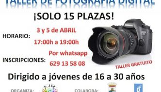 Taller gratis de fotografía en Mollina
