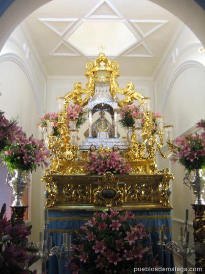 Foto de la Virgen de los Remedios de Cartama