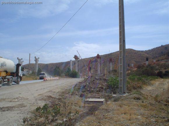Autopista de Malaga obras