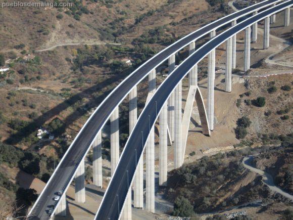 Viaducto autopista malaga