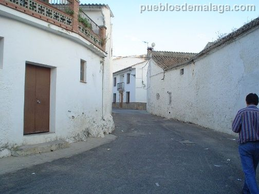 Calle de los Callejones de Alfarnatejo
