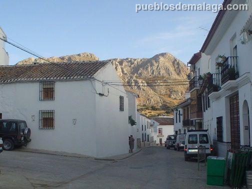 Calle y Sierra de Alfarnatejo
