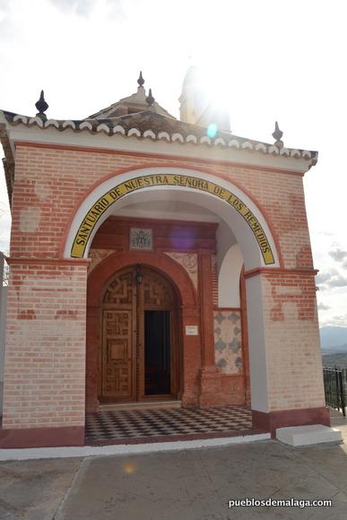 Entrada de la Ermita de Cártama