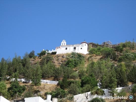 la ermita de cartama y el camino