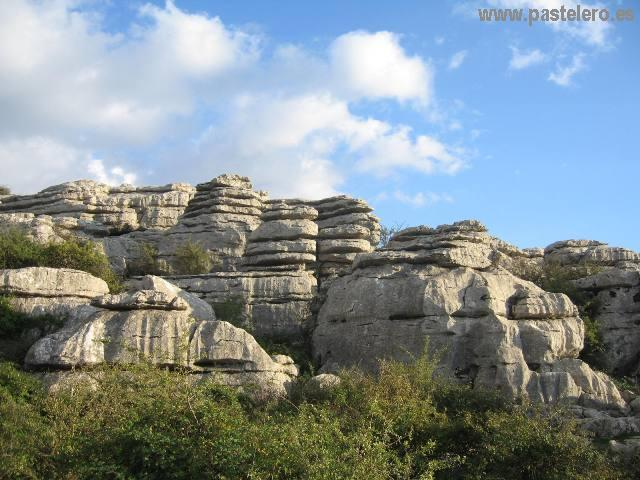 El Torcal de Antequera fotos de paisajes de piedra
