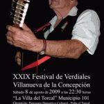 Festival de Verdiales de Villanueva de la Concepción 2009
