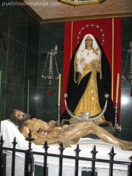 María Santísima de Concepción y Lágrimas. Titular de la Hdad De la Vera+Cruz de Almogía