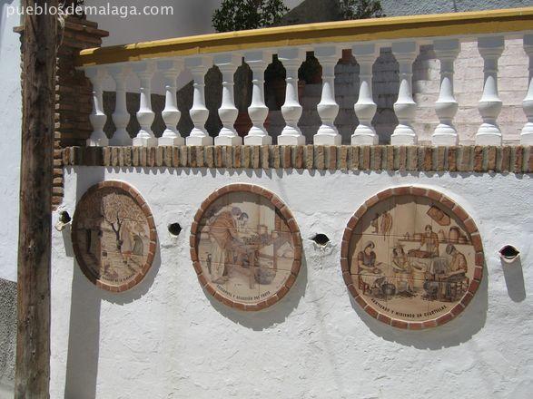 Detalles de ceramica de oficios antiguos de Almogia