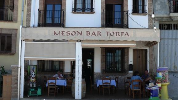 Bar Torfa en Villanueva de la Concepción.