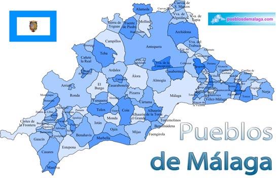 Lista de Pueblos de Málaga