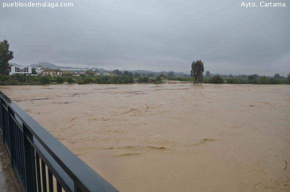 Río Guadalhorce a su paso por Cártama