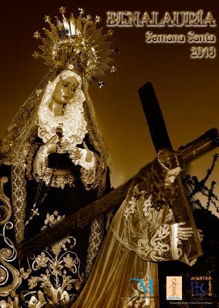 Cartel de la Semana Santa 2013  de Benalauría