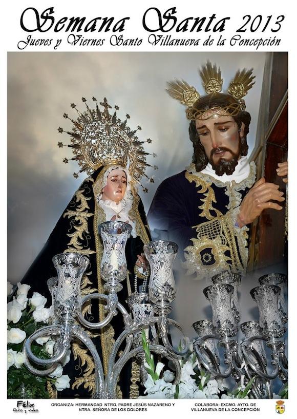 Cartel de la Semana Santa 2013 de Villanueva de la Concepción
