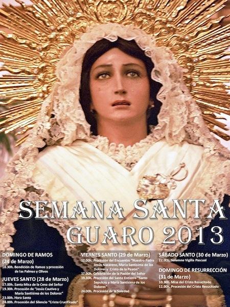 Semana Santa de Guaro 2013