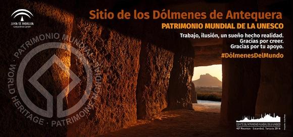 los Dólmenes de Antequera, Patrimonio Mundial de la Unesco