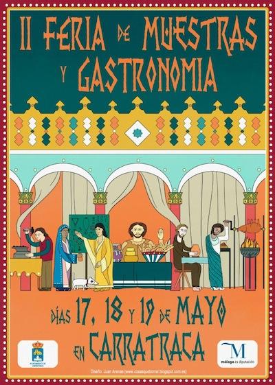 Feria de Muestras y Gastronomia de Carratraca 2013