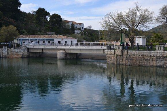 Compuertas del Pantano Conde de Guadalhorce
