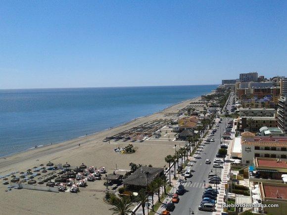 Playas de torremolinos - Fotos de hamacas en la playa ...