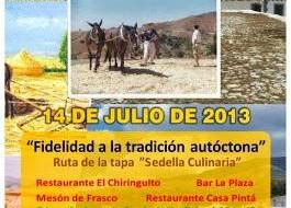 Día de la Trilla de Sedella 2013