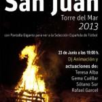 Noche de San Juan de Torre del Mar 2013