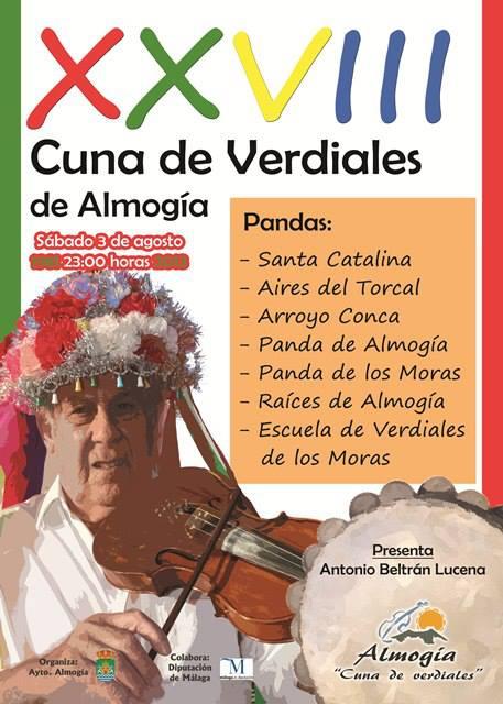 Cuna de Verdiales de Almogía 2013