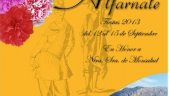 Cartel de la Feria de Alfarnate 2013
