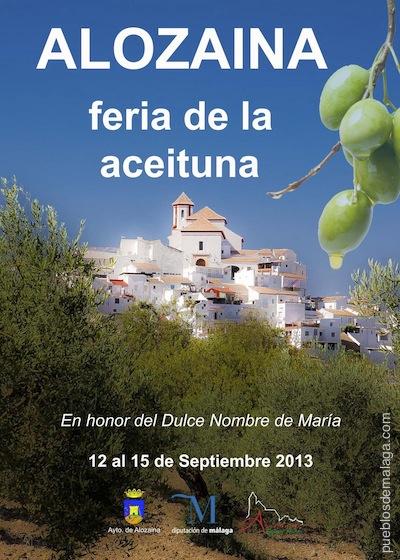 Feria de la aceituna de Alozaina 2013