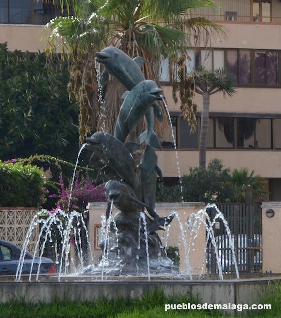 Fuente de los delfines de Torremolinos