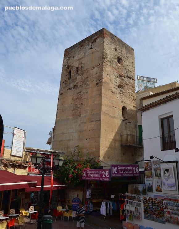Torre de los molinos que da nombre al municipio de Torremolinos