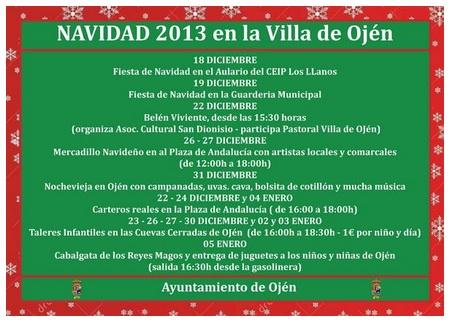 Navidad en Ojén 2013-2014