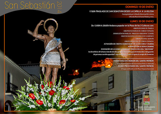 Frigiliana celebra las fiestas en honor a su Santo Patrón San Sebastián
