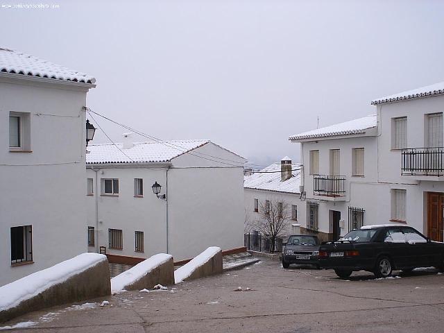 Calles Nevadas de Villanueva del Rosario