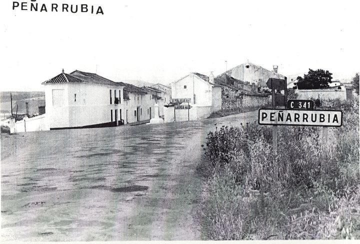 Peñarrubia fue desalojado para construir el embalse de Guadalteba