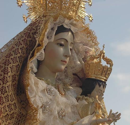 Virgen del Rosario de Peñarrubia