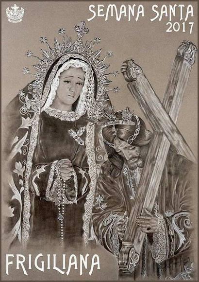 Cartel de la Semana Santa de Frigiliana