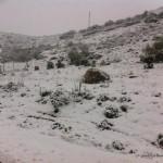 Nevada en el Torcal de Antequera - 29 de Marzo de 2014