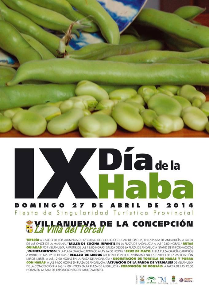 Día de la Haba 2014 en Villanueva de la Concepción