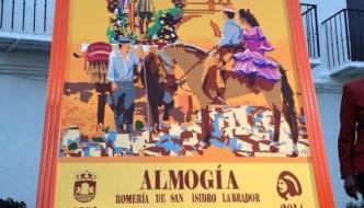 Cartel de la Romería de San Isidro de Almogía 2014