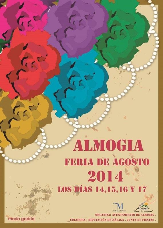 Cartel de la Feria de Almogía 2014